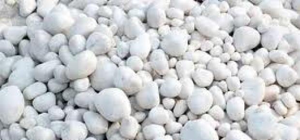 Piedra rotondada blanca lajas quilmes for Bolsa de piedra para jardin
